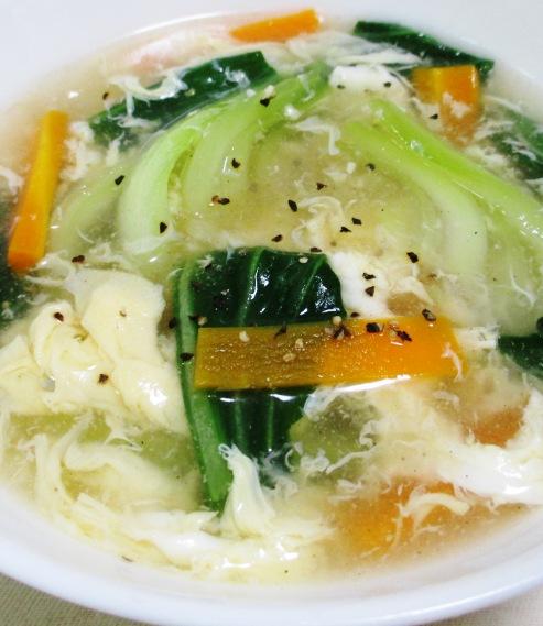 青梗菜のスープ B