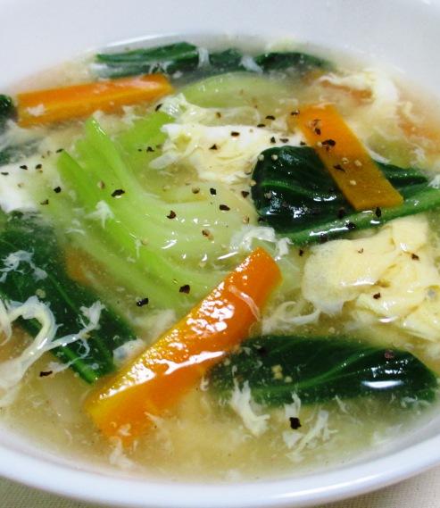 青梗菜のスープ 大