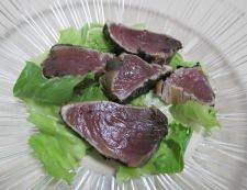 鰹のたたきと豆腐のサラダ 調理④