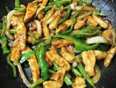 鶏むね肉の胡麻味噌照り焼き 調理⑥