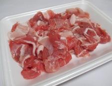 豚こまの花椒しょうが焼き 材料①