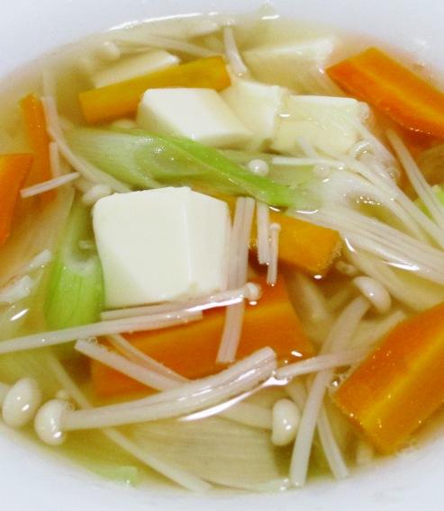 豆腐えのきスープ 大