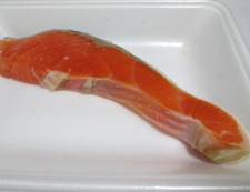 ネギ鮭サラダ 材料①