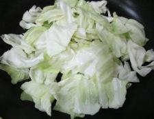 竹輪キャベツ 調理②