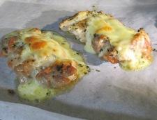 鶏もも肉のバジルチーズ焼き 調理⑥