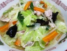 野菜たっぷりタンメン 調理⑥