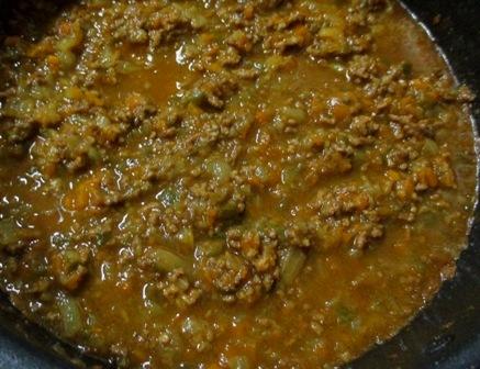 キーマカレー 鍋