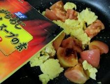 トマトと卵のオイスターソース炒め 調理⑥