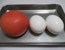 トマトと卵のオイスターソース炒め 材料
