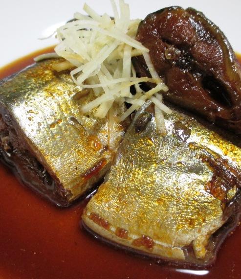 秋刀魚のコチュジャン煮 拡大