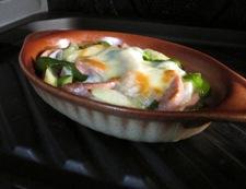 おさかなソーセージのチーズ焼き 調理⑥