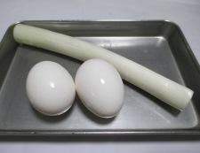 エビチリ卵 材料②