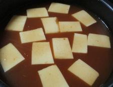キムチスープ 調理②