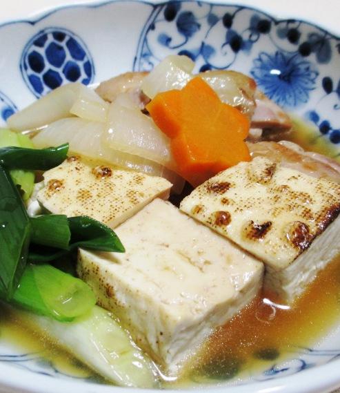 鶏もも肉と焼き豆腐の煮物 B