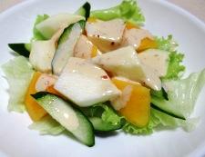 柿りんご 調理②