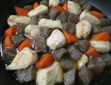 むね肉とこんにゃくの煮物 調理⑥
