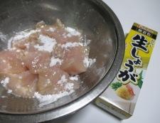 むね肉とこんにゃくの煮物 調理①
