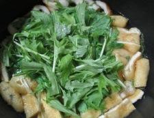 水菜の炊いたん 調理②