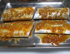 太刀魚のコチュジャン焼き 調理②