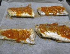 太刀魚のコチュジャン焼き 調理③