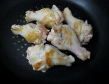 手羽元と白菜のオイスターソース煮 調理②