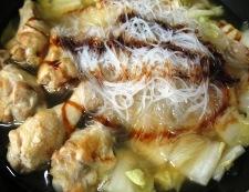 手羽元と白菜のオイスターソース煮 調理⑥