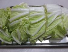 手羽元と白菜のオイスターソース煮 調理①