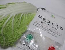 手羽元と白菜のオイスターソース煮 材料②