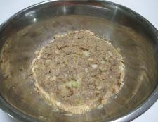サバ缶とれんこんのハンバーグ 調理②