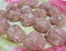 ごぼうと鶏だんごの坦々スープ煮 材料②