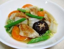 手羽中白菜 調理⑥