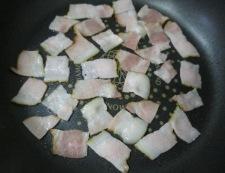 バジルアスパラ 調理②