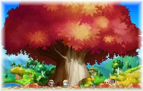 ヒドゥン テイルズヘネシスの幽霊もみじの木