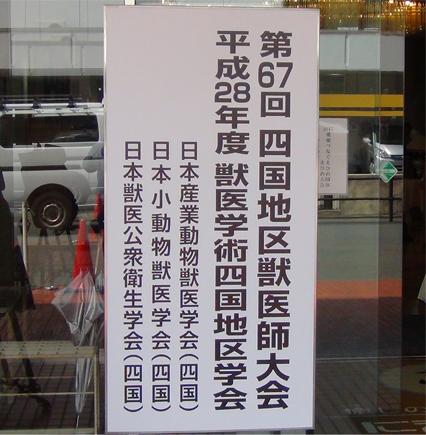 四国地区学会で愛媛へ-1