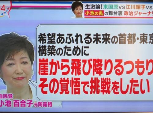 Koike yuriko for Tokyo mayor