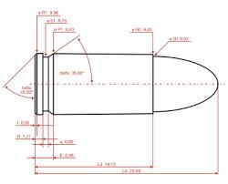 9ミリ弾の形状A