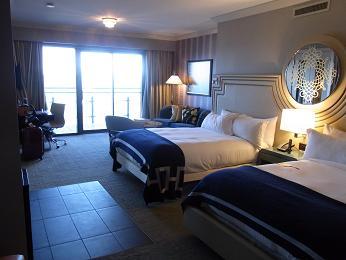 ベガスコスモポリタンホテル部屋①