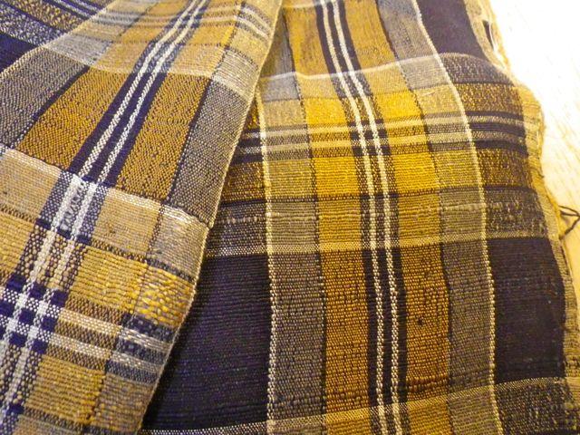 つながりはじめる・手織り布