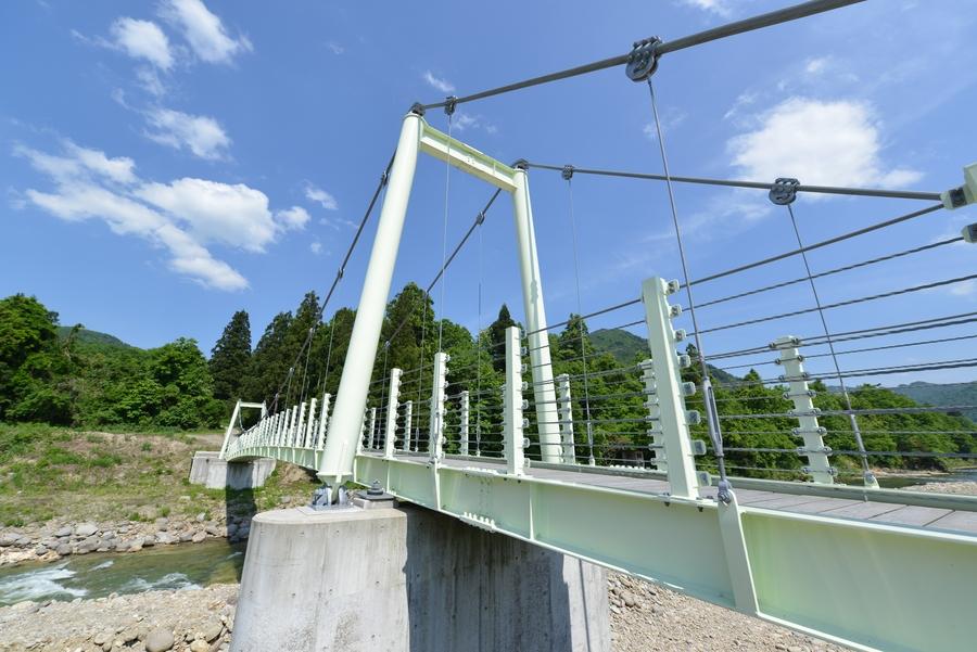 塩野渕の吊り橋-4