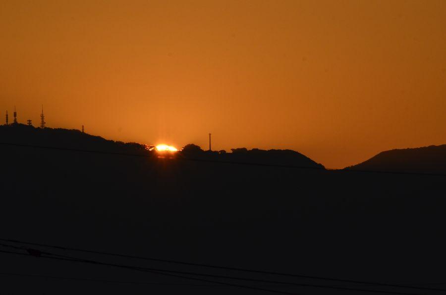 陽が沈んだ-1