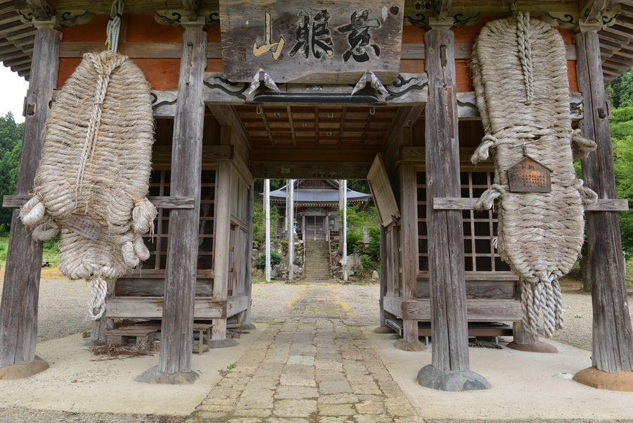 正眼寺と七尊観音堂-1