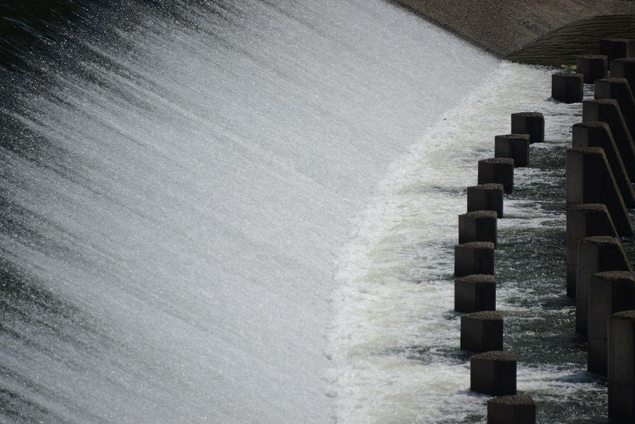河口の堰-2
