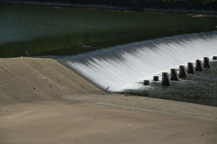 河口の堰-3