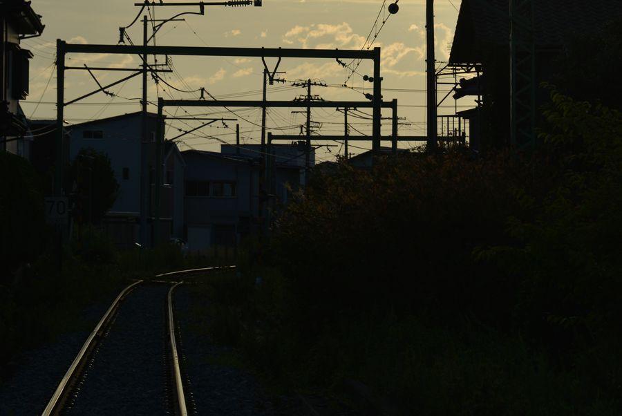 光る線路-5
