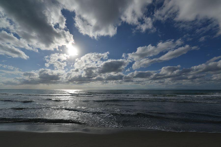 夏の終わりの海岸-5