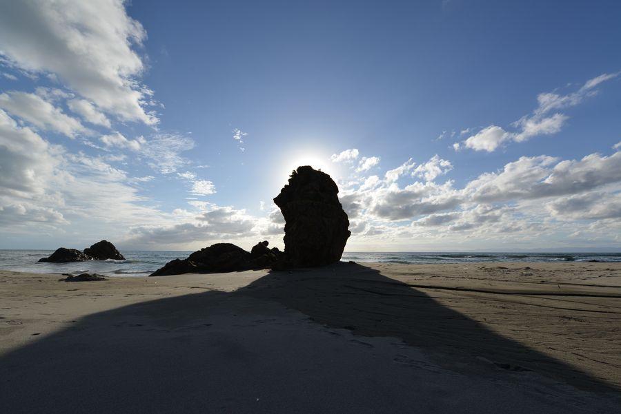 海岸の岩-9