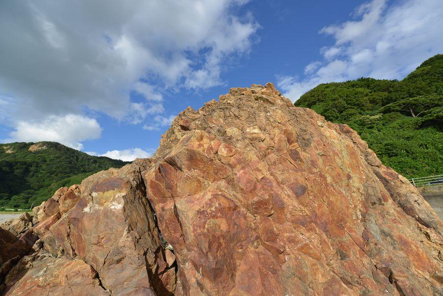 海岸の岩-8