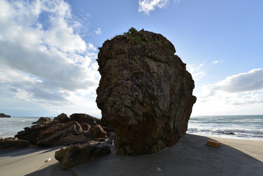 海岸の岩-10