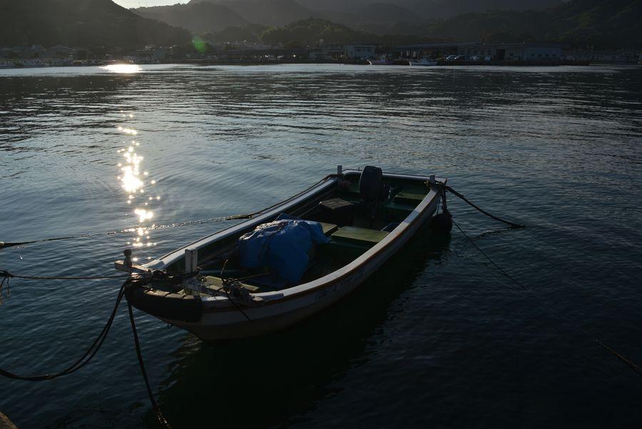夏の思い出 萩港-1