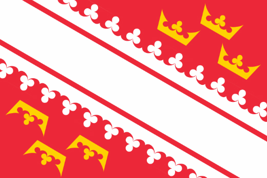 アルザス地方旗